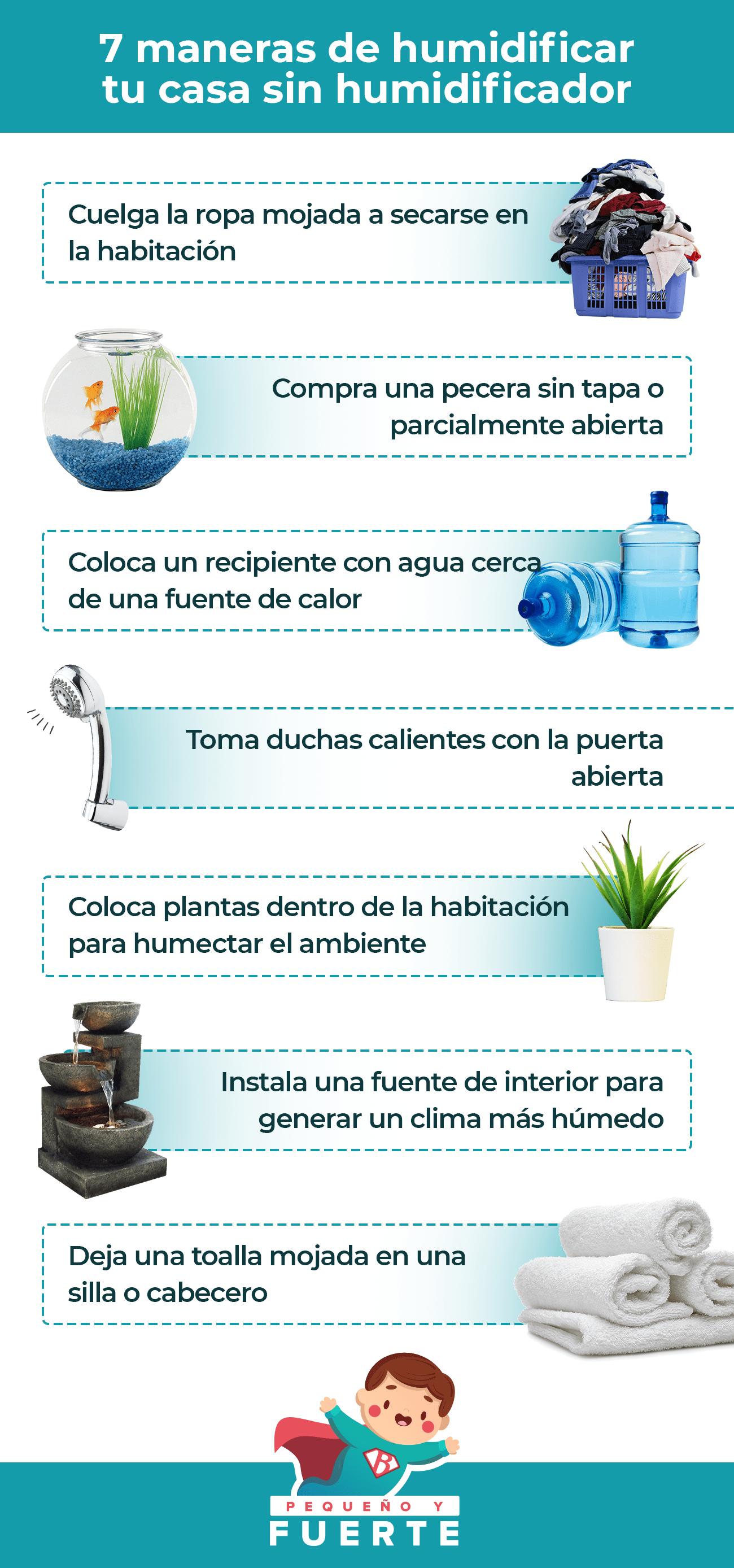 humidificar el aire modos maneras